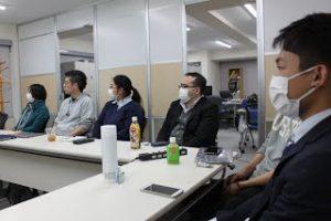 3月社員全体定例会議を行いましたの写真