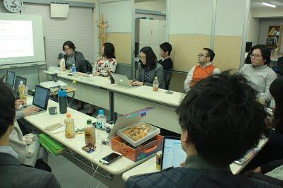 11月社員全体定例会議を行いましたの写真