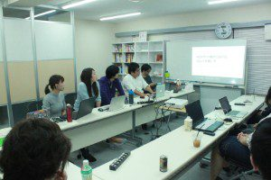 勉強会「WEBサイト制作におけるフォントの使い方」の写真