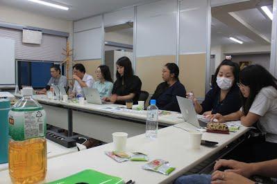 9月社員全体定例会議を行いましたの写真