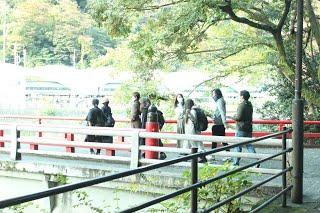 箱根研修の写真