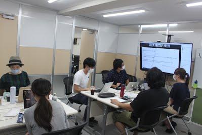 8月社員全体定例会議(オンライン併用)を行いましたの写真