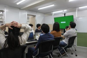 2月社員全体定例会議を行いましたの写真
