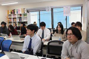 1月社員全体定例会議を行いましたの写真
