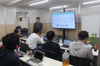 勉強会「UI設計とコーディングについて」の写真