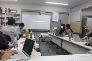 勉強会「開発初心者の業務について」の写真