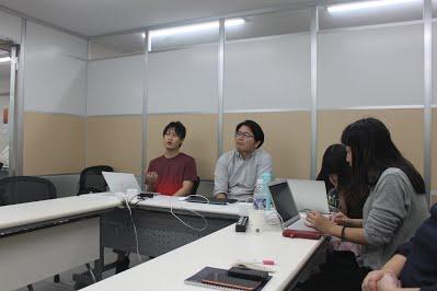 10月社員全体定例会議を行いましたの写真